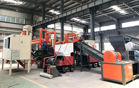 One set copper wire granulator machine ordered by Amercian customers will be shipped from DOING factory