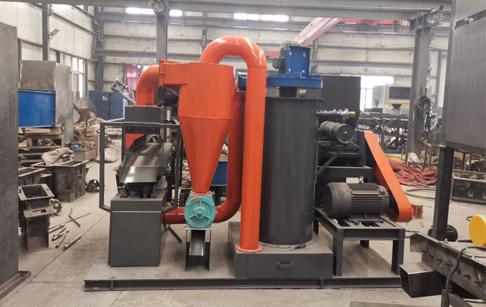 200 kg/h copper wire separator machine running video