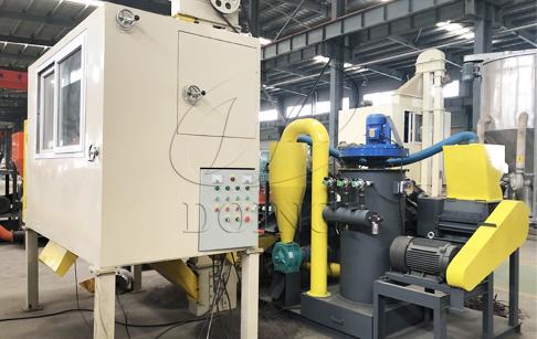 100-200kg/h copper wire separator machine running video